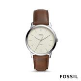 FOSSIL THE MINIMALIST 簡約設計輕薄款男錶 44mm