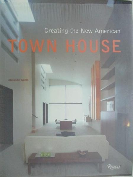 【書寶二手書T8/設計_DOS】Town House