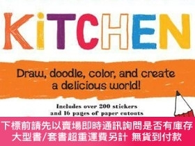 二手書博民逛書店罕見CreativityFun:Kitchen:Draw,Doodle,Color,andCreateaDelic
