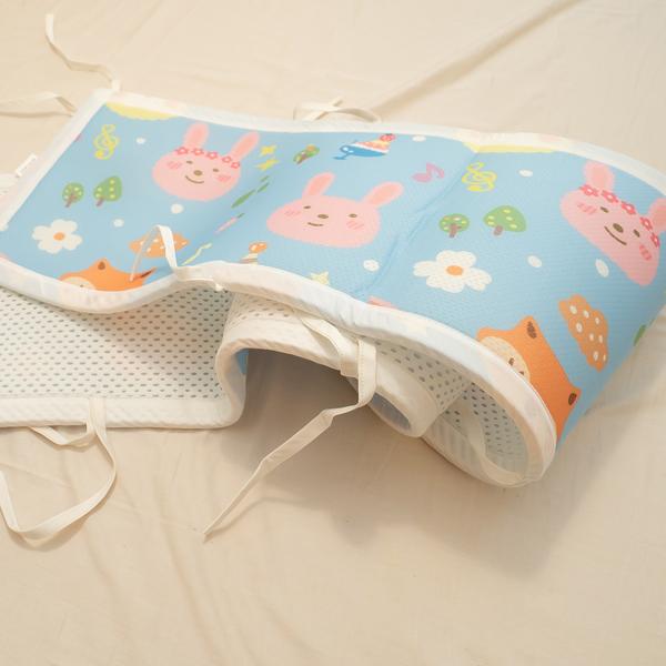 3D透氣嬰兒透氣(床圍乙個) 蜂巢式結構 吸濕排汗 水洗快乾 好收納 棉床本舖 嬰兒 兒童