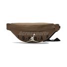 Nike 包包 Jordan 男女 咖啡 腰包 肩背包 拉鍊 小包 喬丹 基本款【ACS】 JD2143011GS-002