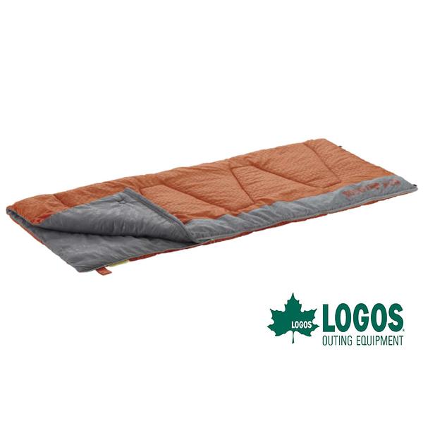 【日本LOGOS】 抗菌防臭0℃丸洗 纖維睡袋 戶外 |登山 |露營|可機洗 72600660