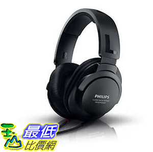 【8美國代購】耳機 Philips SHP2600 GENUINE Over Ear Headband Hi Fi Headphones Black Color