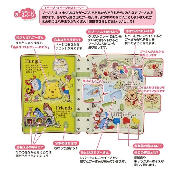 特價 迪士尼幼兒 小熊維尼繪本有聲玩具書_ DS15335