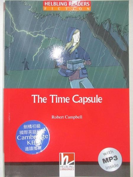 【書寶二手書T3/語言學習_GKV】Helbling Readers Red Series Level 2: Time Capsule with CD_Robert Campbell