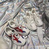 運動鞋韓版chic女原宿bf風復古街拍學院跑步鞋  朵拉朵衣櫥