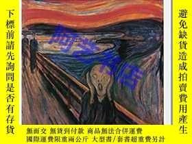 二手書博民逛書店愛德華.蒙克罕見畫冊 Munch (Basic Art Seri