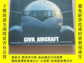 二手書博民逛書店CIVIL罕見AIRCRAFT---PASSENGER AND