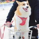 寵物牽繩-狗狗牽引繩胸背帶寵物鍊子小型犬狗繩子泰迪遛狗背心式可調節項圈 東川崎町