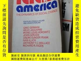 二手書博民逛書店LATIN罕見AMERICA The Dynamics of S