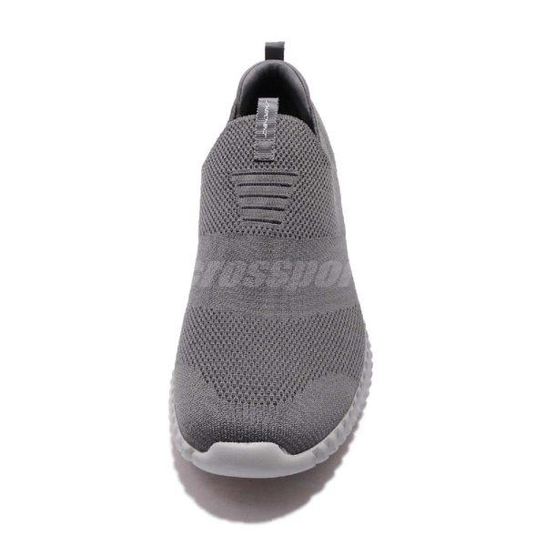 Skechers 健走鞋 Elite Flex Wasik 灰 針織網布鞋面 套入式 休閒鞋 男鞋【PUMP306】 52649CHAR