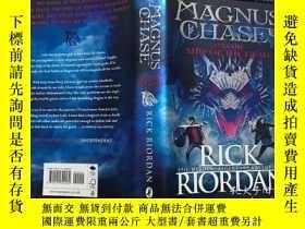 二手書博民逛書店Magnus罕見Chase 波西傑克遜之北歐神話系列 英文原版精裝科幻小說 The Ship of the Dea