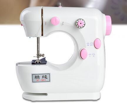 小型多功能臺式縫紉機DLL15381『黑色妹妹』