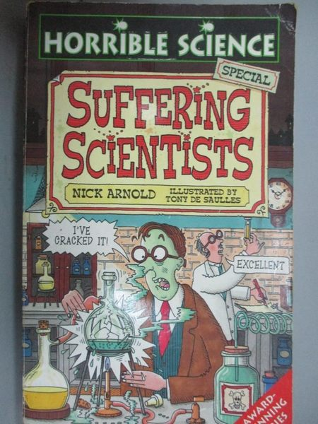 【書寶二手書T1/原文小說_JML】Suffering Scientists (Horrible Science)_Nick Arnold