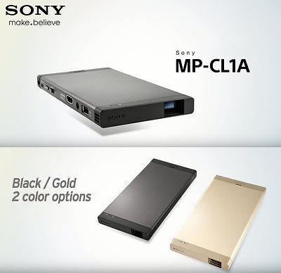 Sony MP-CL1A 行動雷射微型投影機 1920x720 高畫質投影 可用 WiFi、HDMI 及 MHL 連結 MP-CL1 後續新款