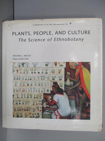 【書寶二手書T1/原文書_PDW】Plants, People, and Culture
