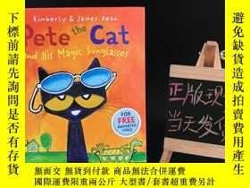 二手書博民逛書店Pete罕見the Cat and His Magic Sunglasses(精裝英文原版兒童繪本)Y2365