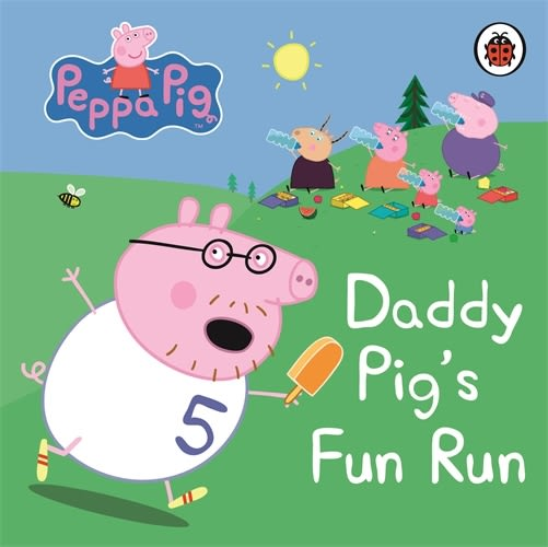 Peppa Pig:Daddy Pig's Fun Run 爸爸豬的趣味賽跑 精裝硬頁書