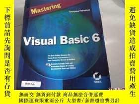 二手書博民逛書店【原版計算機書籍】Mastering罕見Visual Basic