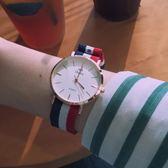 (交換禮物)手錶女學生韓版簡約休閒大氣時尚潮流防水ins復古小清新百搭可愛