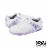 Royal Elastics Icon Alpha 經典運動鞋-白x粉嫩紫