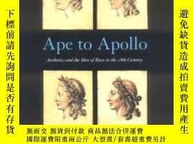 二手書博民逛書店Ape罕見To Apollo-阿波羅的猿猴Y436638 David Bindman Cornell Univ
