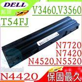 DELL 電池(保固最久)-戴爾 E5420,N4720,N5420,N5520,N5720, N7420,N7520,N7720,4YRJH,8858X,T54F3,T54FJ