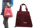 ~雪黛屋~X-FRE 手提餐袋拉鍊式大開口小容量簡易提袋台灣製造防水尼龍布隨身品外出手提袋#4913