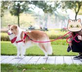 牽繩狗狗牽引繩狗鏈子項圈遛狗繩子寵物用品