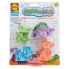 【美國ALEX】700DN  兒童洗澡玩具 可愛噴水洗澡玩具-恐龍 /組