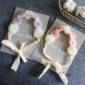 可愛花朵小公主發飾女寶寶發帶兒童頭飾表演裝飾花童演出配飾【無趣工社】