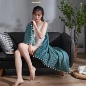 雙層魔法絨小毛毯被子加厚冬季單人珊瑚法蘭絨辦公室午睡空調毯子 KV4388 【歐爸生活館】