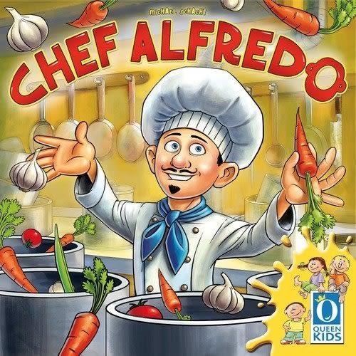 『高雄龐奇桌遊』 奶白醬大廚 義食主廚 Chef Alfredo ★正版桌上遊戲專賣店★