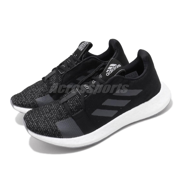 adidas 慢跑鞋 SenseBOOST Go M 黑 白 男鞋 女鞋 低筒 運動鞋 【ACS】 EG0960