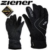 德國名牌【ZIENER】GORE-TEX防水防寒專業運動手套 - 黑