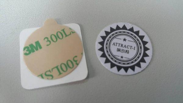 【磁吸圓貼片】磁吸式手機車架的貼片(不含手機架 )本商品為圖一(貼紙一張+鐵片一個)