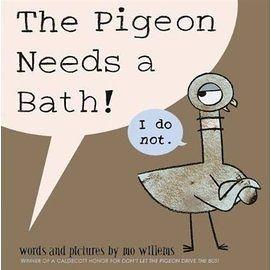 【麥克書店】THE PIGEON NEEDS A BATH /英文繪本 (Mo Willems/頑皮鴿子/楊禎禎)_