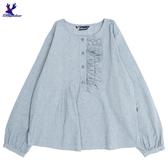 【春夏新品】American Bluedeer - 細褶圓領上衣(特價) 春夏新款