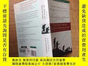 二手書博民逛書店Letters罕見from a lost generation:first world war letters o