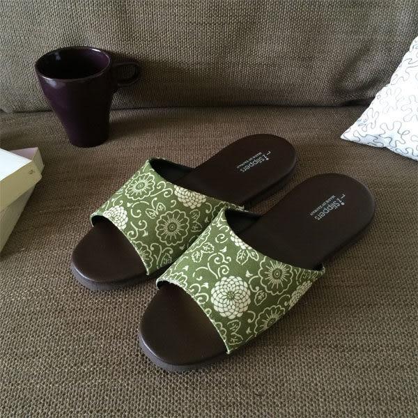台灣製造-品味系列-布面皮質室內拖鞋-花絮-白