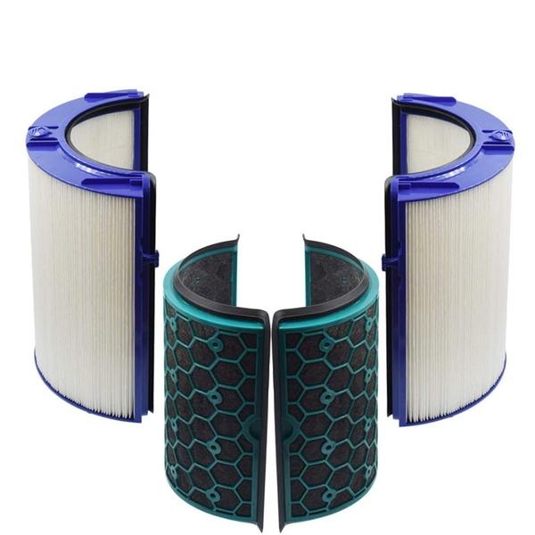 [9美國直購] HEPA Filter 濾網 Activated Carbon Filter Compatible with Dyson Air Purifier TP04 HP04 DP04 Sealed