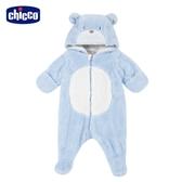 chicco-北極小熊-小熊造型連帽毛絨兔裝