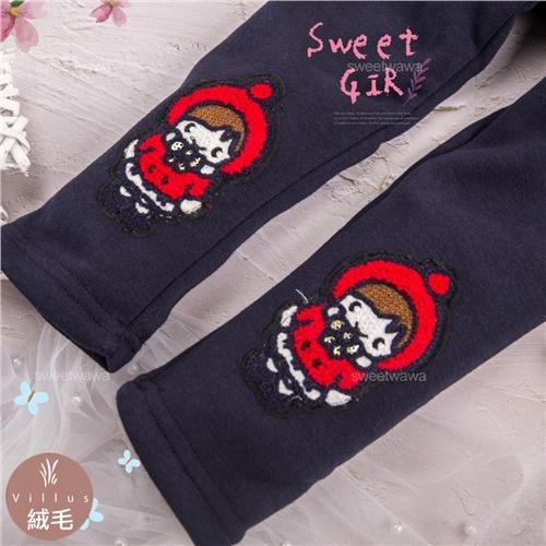 禦寒保暖~紅帽小女孩內搭長褲(厚棉,內絨毛)(300848)【水娃娃時尚童裝】