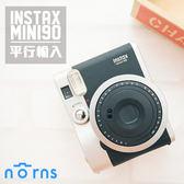 【MINI90富士拍立得相機旗艦機 黑色】Norns 平輸保固一年 Fujifilm instax mini 90單機 復古經典 NEO CLASSIC