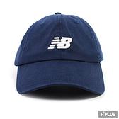 New Balance 帽 運動帽 電繡 藍 - LAH91014NGO