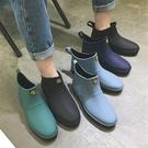 雨鞋 潮流時尚低幫雨鞋男士雨靴短筒夏季成人勞保膠鞋防水鞋男外貿批發