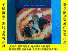 二手書博民逛書店Harry罕見Potter and the Half-Blood Prince 精裝Y261601 J.K.R