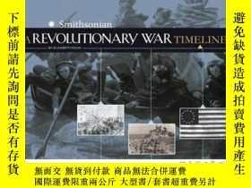 二手書博民逛書店A罕見Revolutionary War Timeline-革命戰爭的時間表Y465786 Elizabeth