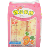 統記 幼兒米餅-葫蘿蔔 60g【BG Shop】