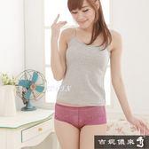 吉妮儂來 6件組氣質舒適輕柔時尚花紋無痕褲(隨機取色)